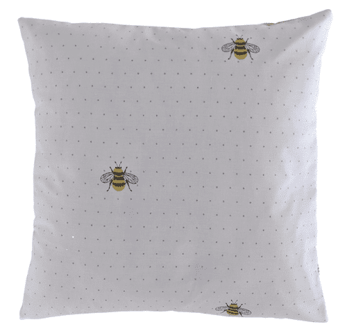 """16"""" Spotty Bumble Bee Cushion Cover"""