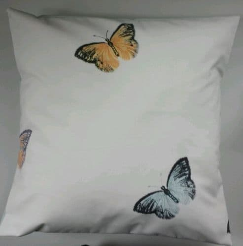 "Bright Butterfly Cushion Cover 16"" Matches Next Bedding Curtains"
