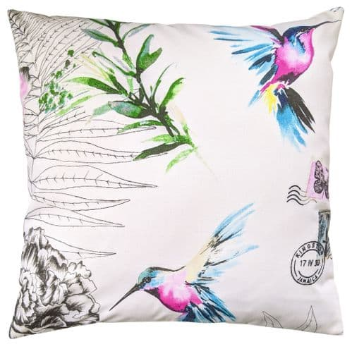 Bright Hummingbird and Butterfly Cushion Cover 16