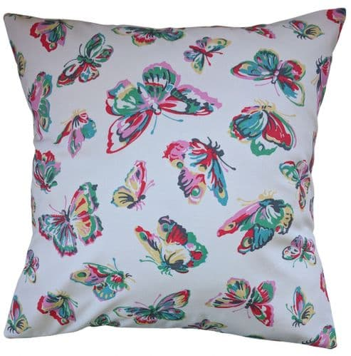 """Cushion Cover in Cath Kidston Butterfly 14"""" 16"""" 18"""" 20"""""""