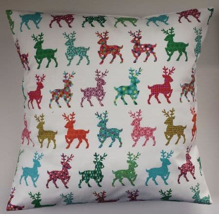 Cushion Cover in Christmas Stags