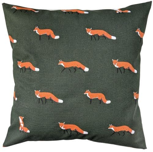 """Cushion Cover in Sophie Allport Fox 14"""" 16"""" 18"""" 20"""" 22"""" 24"""" 26"""""""