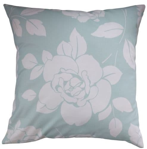 """Cushion Cover Made in Cath Kidston Mono Rose Blue 14"""" 16"""" 18"""" 20"""""""