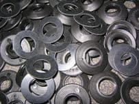 12mm Plastic Eyelets 12mm internal dia, 2500 in a box complete with rubber washers