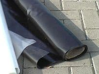 4mtr x 50mtr x 125mu (500gauge) Available in Black White or Clear