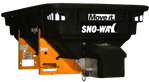 SNOWAY V-SPREADER RVB750, 570L, 12V INCL. VIBRATOR AND CONTROL