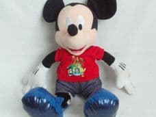 Adorable Big Rare Disney '15 Years Magical Celebration Mickey Mouse' Plush Toy