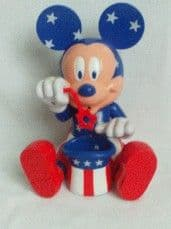 Adorable Rare Disney U.S.A. 'Mickey Mouse Bubble Blower' Toy
