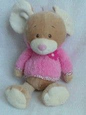 My 1st Big Cute Baby Girl 'Mouse' Plush Toy