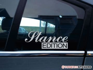 """""""Stance Edition""""Lowered VAG, JDM, Low stanced car sticker"""