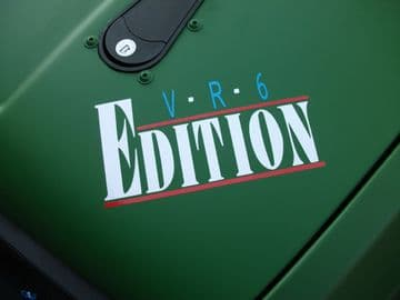 'VR6 Edition' sticke​r / Decal For VW Golf Mk3 VR6 /Vento, Jetta mk3/ corrado / Passat B4 / Sharan