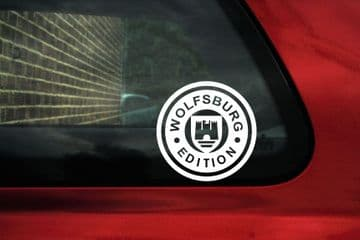 'Wolfsburg Edition' sticker, Decal. Ideal For VW, Golf Mk2,Mk1 GTi / Passat / Polo/Corrado,Volswagen