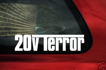 20v Terror stickers.for Fat Coupe 20v Turbo / brava, Bravo 20v HGT