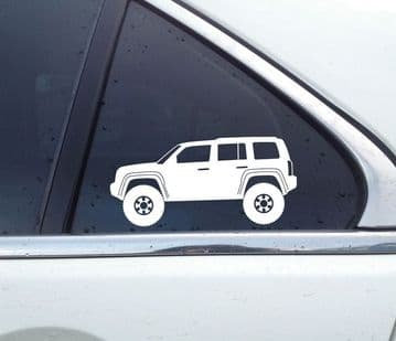 2X Lifted offroad truck stickers - for Jeep Patriot | T48