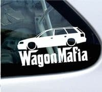 Audi wagon mafia stickers