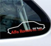 Custom Alfa stickers