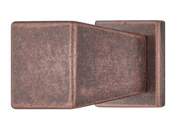 Augusta Knob (With Backplate) Handle Antique Copper Finish
