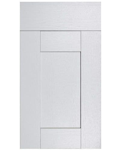 Buckingham Dove Grey Ash- 22mm 5 Piece Replacement Kitchen Doors