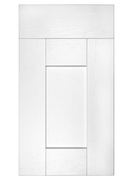 Buckingham White Ash- 22mm 5 Piece Replacement Kitchen Doors