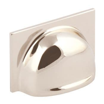 Queslett Cup Handle Polished Nickel Finish