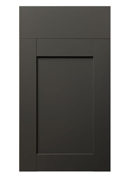 Rivington Graphite Super Matt- 22mm 5 Piece Replacement Kitchen Doors