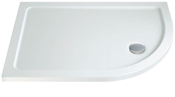 DuoStone - Low Profile Offset Quadrant shower Tray